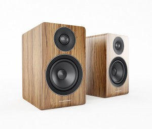 Acoustic Energy AE100 in walnut