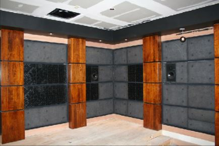 Acoustic room treatment home cinema installation hifi systems for Living room acoustic treatment