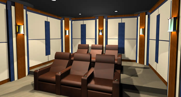 Home Cinema Design Gallery | Our Solutions | Acoustic Room Systems