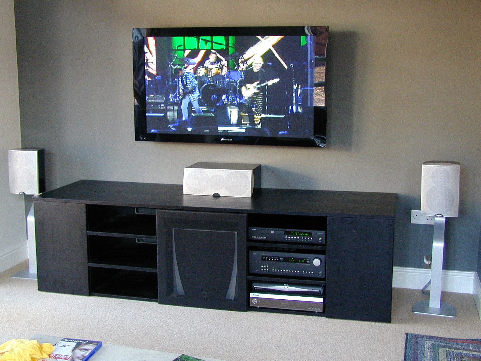 Custom furniture and plasma