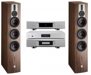 Silver Stereo system