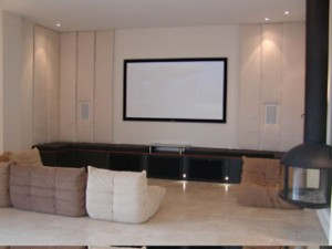 Large Barn Conversion Cinema