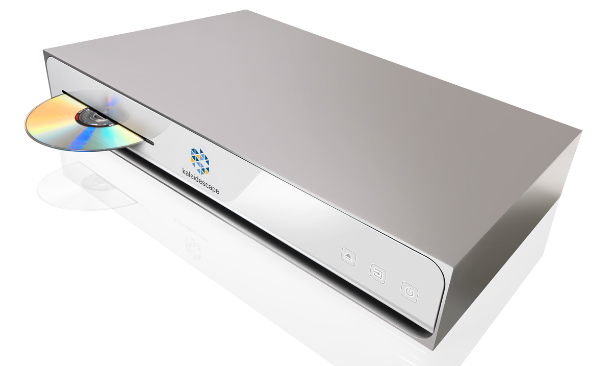 Kaleidescape Cinema One with disc