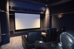 9' Acoustically transparent screen