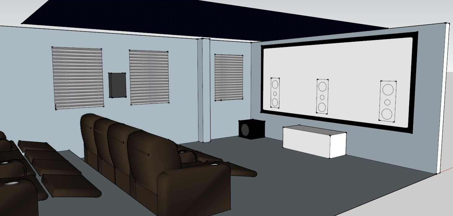Demonstration Cinema Room Model
