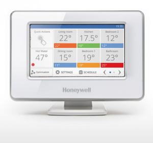 Honeywell EvoHome smart thermostat