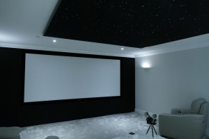 4K widescreen cinema room