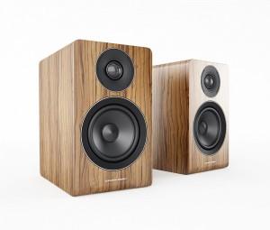 Acoustic Energy AE100 in walnut