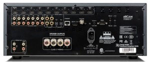 Arcam FMJ AVR250 back