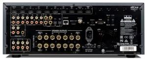 Arcam FMJ AVR850 back