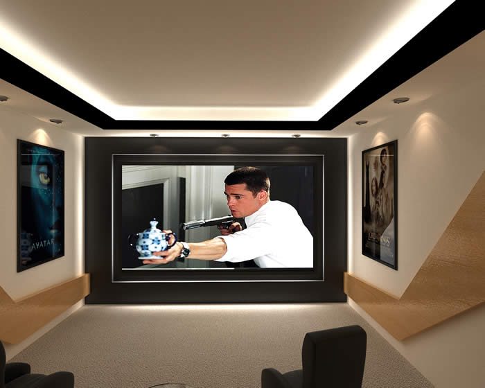 Cinematech Intrinsic home cinema design