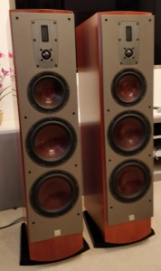 Mentor 8 Loudspeakers in Cherry