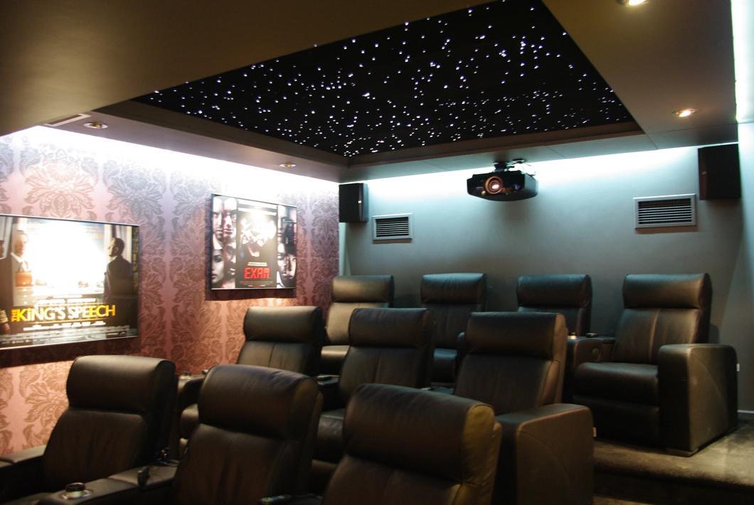 Star Ceiling installation