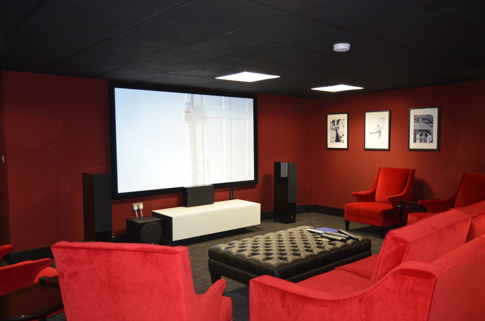 Basement Cinema View 2