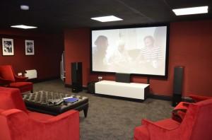 Basement Cinema view 1