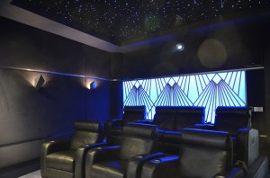 HiFi Cinema Project featuring a Star Ceiling