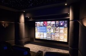 Dedicated HiFi Cinema Room with Star Ceiling