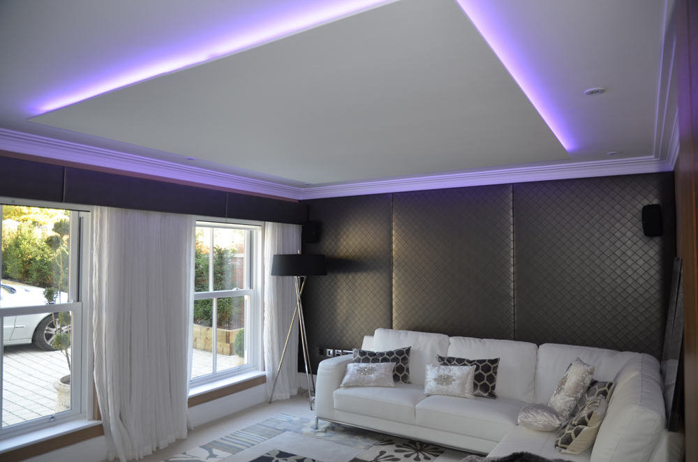 Drop Ceiling with LED wash