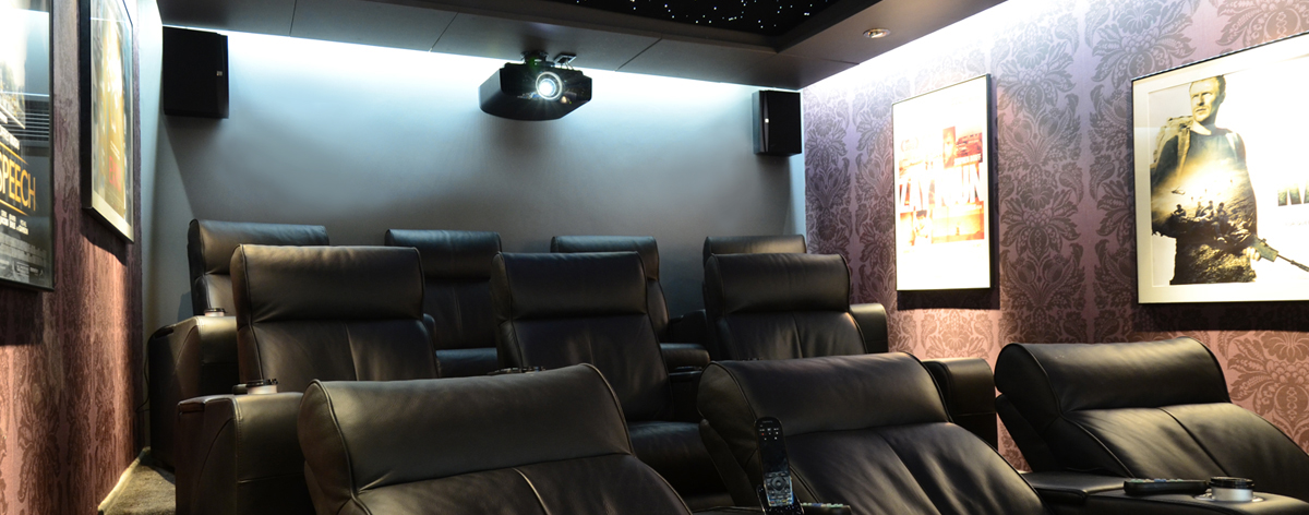 custom designed Home Cinemas