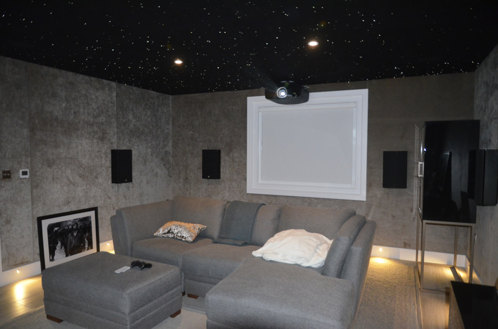 Cinema room back