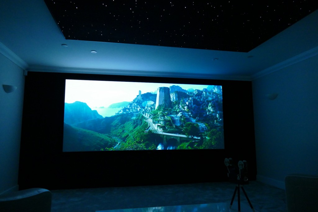 Cinemascope Home Cinema Installationl
