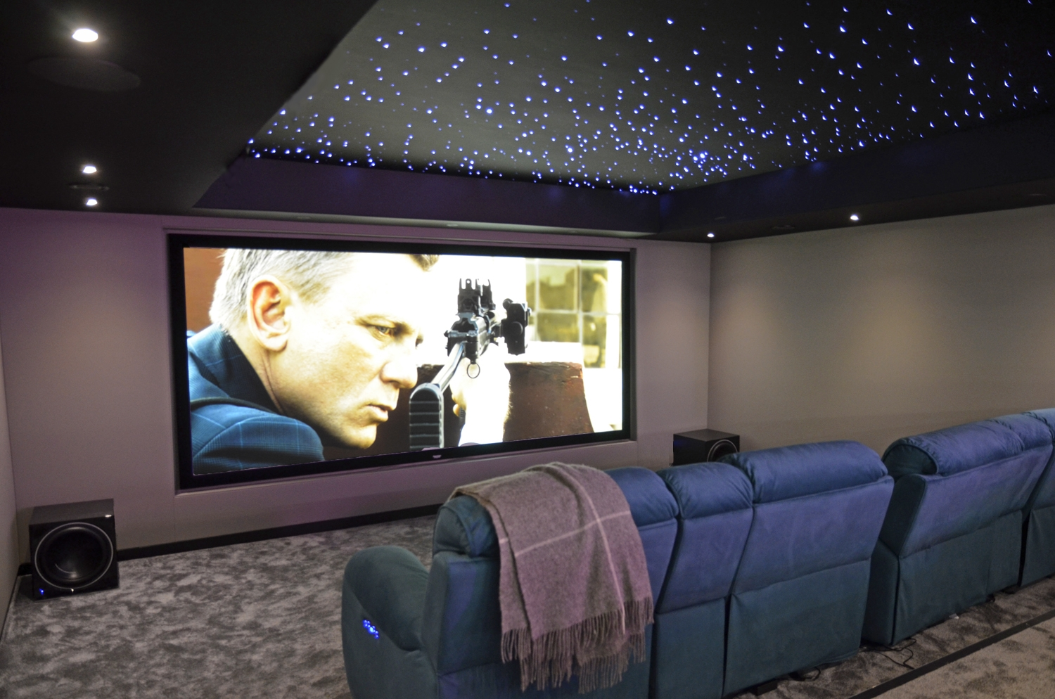 Home Cinema Design Hifi Cinema