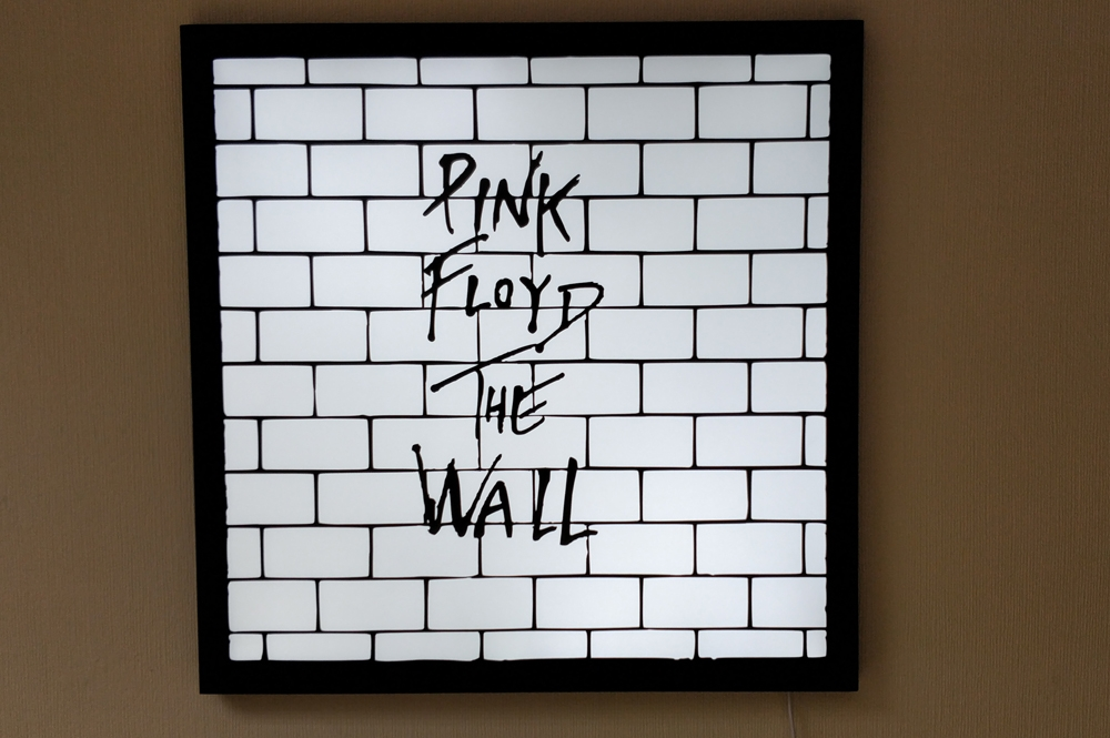 Pink Floyd The Wall sign