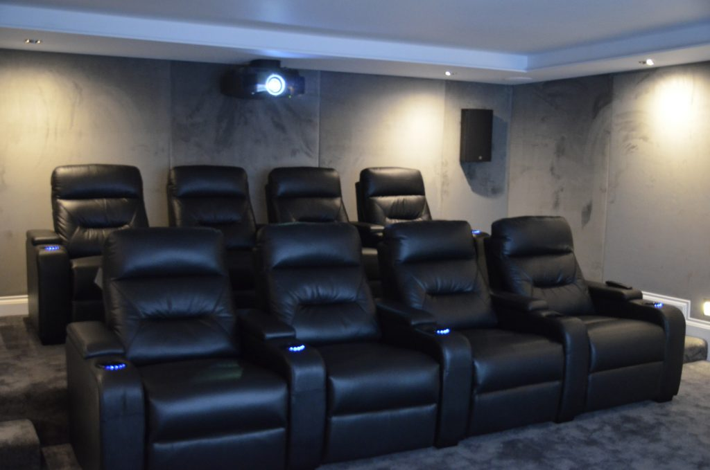 Cinema Seats and projector