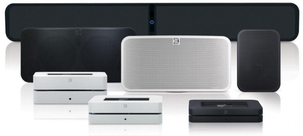 Bluesound product lineup